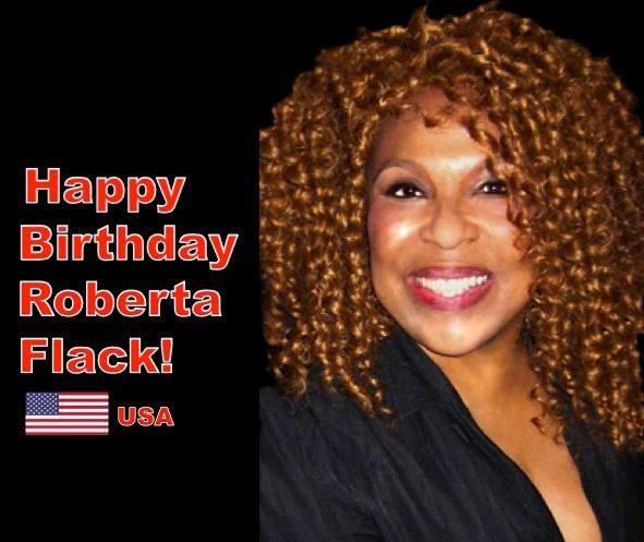 Happy Birthday to R&B Icon Roberta_Flack