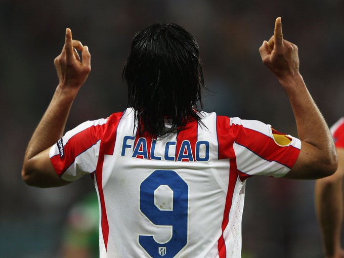Radamel  Falcao  appreciation message  and happy belated  birthday man thrashed  Chelsea  in 45 minutes