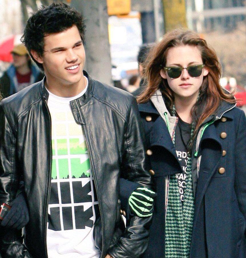 I love Taylor, yeah he\s like one of my boys.  Kristen Stewart.   Happy Birthday Taylor Lautner