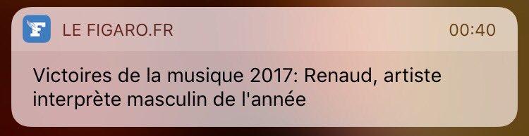 Loin de moi l'idée de m'en prendre à la presse. Mais sont quand même bizarres chez .@Le_Figaro #VictoiresDeLaMusique https://t.co/8gnef0S1k8