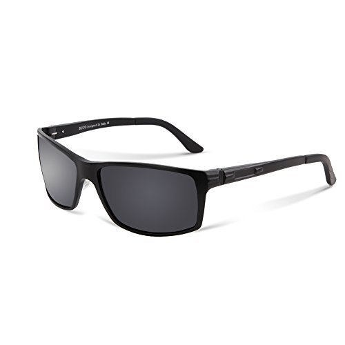 #fashion #free #style #sunglasses ##giveaway #follow #deals Duco Polarized Sunglasses Driver Glasses 9018 Black Frame Grey Lens #rt