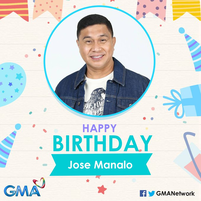 Happy birthday to talented comedian-host, Jose Manalo! May you have more healthy and happy years ahead!