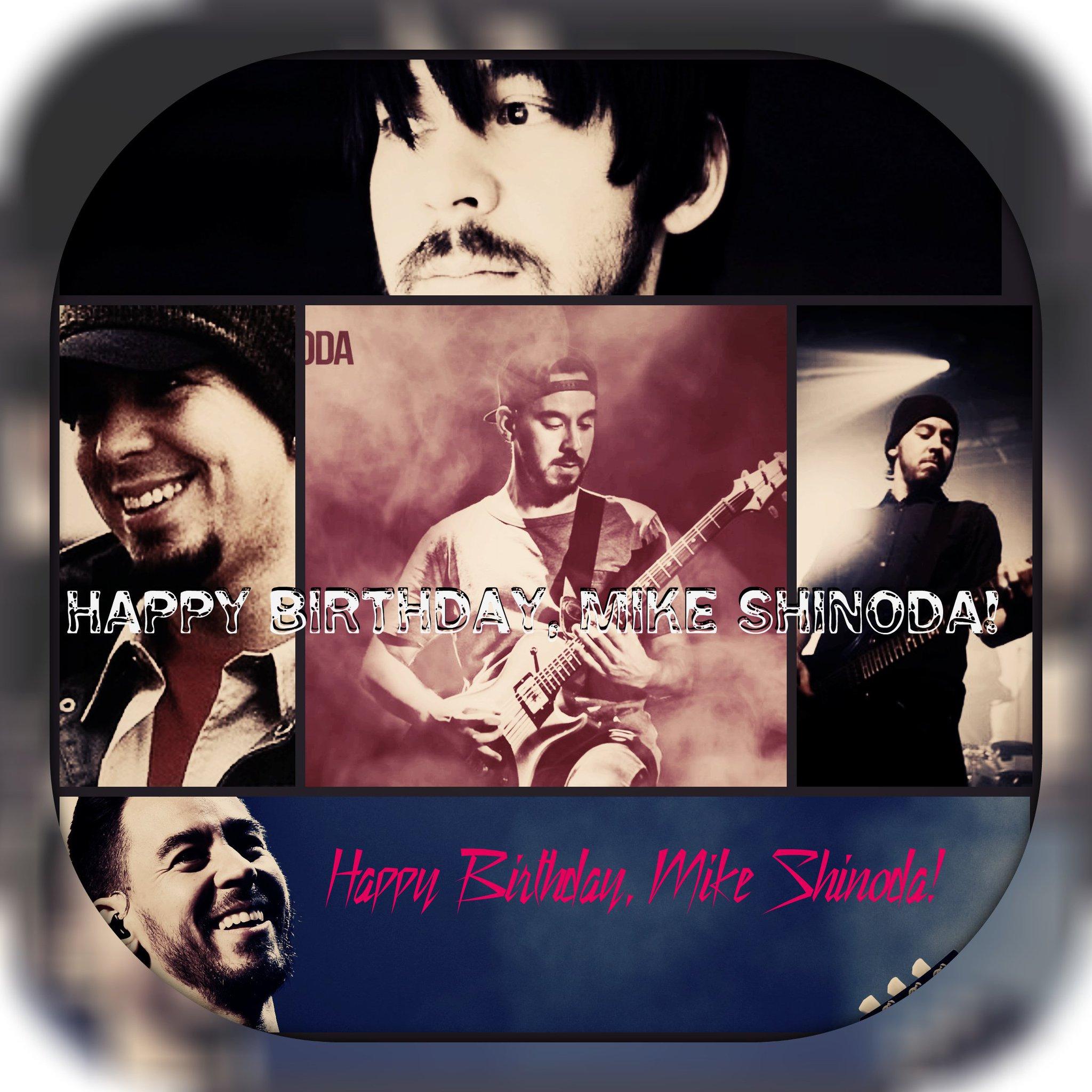 Happy Birthday Mike Shinoda!!