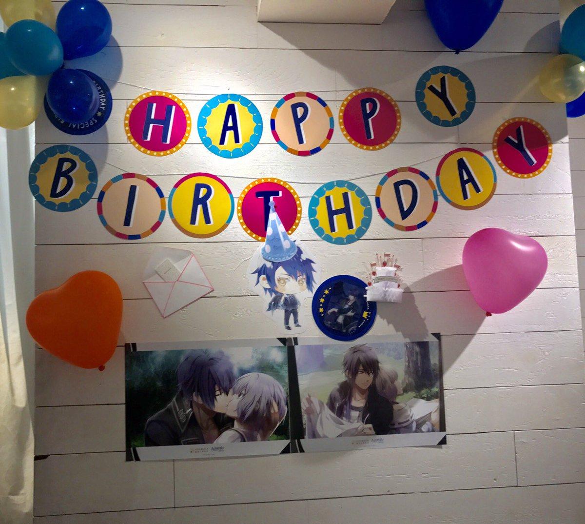 本日は現在コラボレーション中の「NORN9~ノルン+ノネット~」宿吏暁人の誕生日です! HappyBirthday 暁人