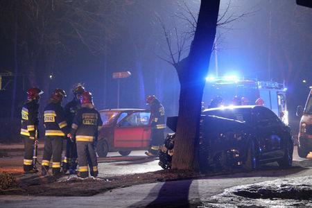 Polish PM flown to Warsaw hospital after car crash