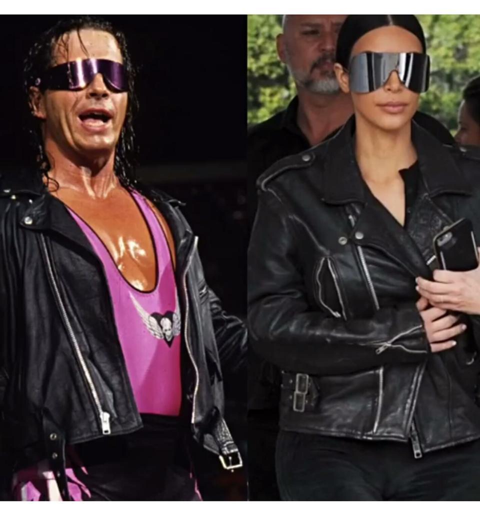 I think Kim Kardashian has been watching too much Bret