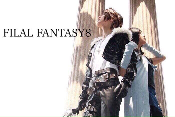 FF8おめでとう〜🎉🎉🎉FFはどれも好きだけど中でも8は特別😭😭😭💓 スコール:リヒトさん💓 photo:凛久さん💓  #FF8_18th_anniversary  #FF8_18周年  #FF8