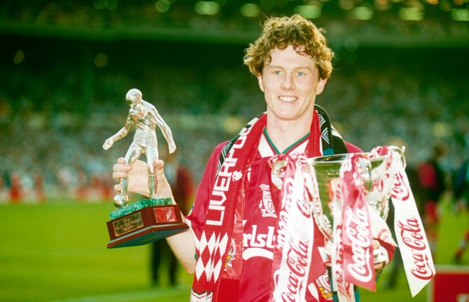 Steve McManaman turns 45 today...  Apps - 560 Goals - 80  Titles - 9 Happy Birthday, Macca!