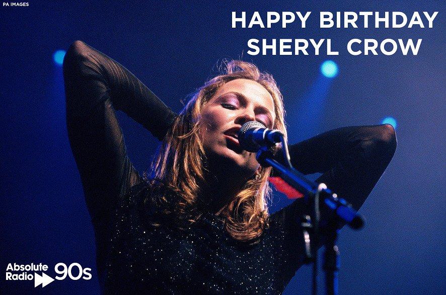 Happy Birthday Sheryl Crow! 55 today!