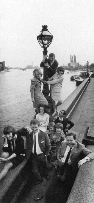 Happy birthday Mary Quant Find her in this group of London Fashion Designers by Norman Parkinson, 18 October 1963