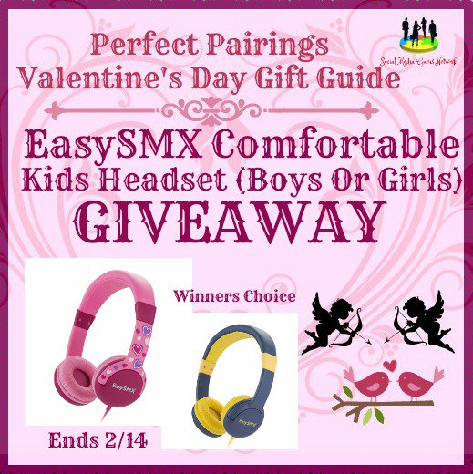 EasySMX Comfortable Kids Headset #Giveaway Ends 2/14 #SMGN