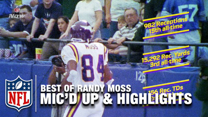 Best of Randy Moss Mic\d Up & Career Highlights | Happy 40th Birthday Randy Moss! | NFL