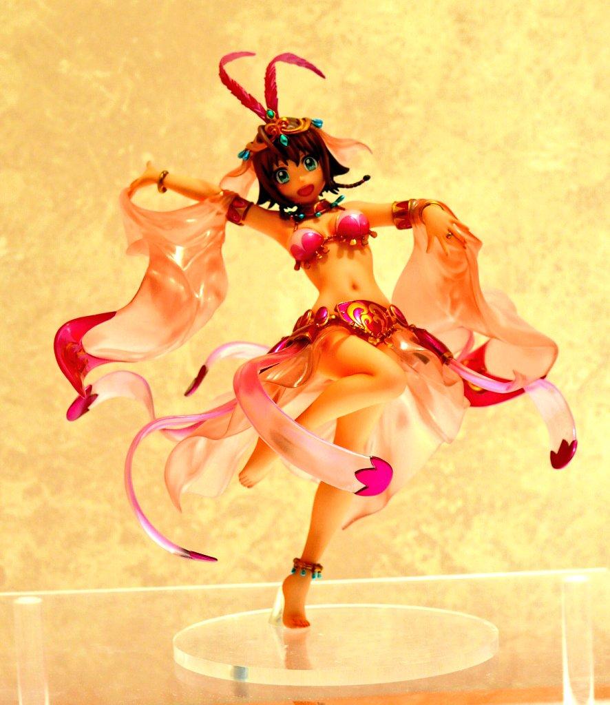 ガルガンティアの踊り子衣装エイミー。つやっぽさすごい #wf2017w