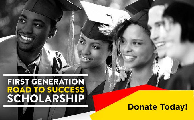 Partnering w/ @tomjoynerfound to create scholarships for #FirstGen college students. #NAACPImageAwards https://t.co/FoD1HvT5KW