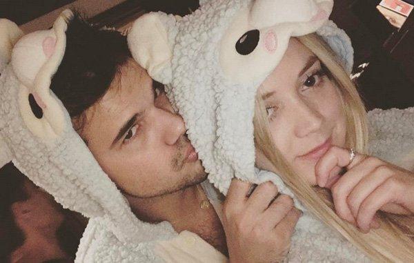 Billie Lourd Wishes Boyfriend Taylor Lautner a Happy Birthday!