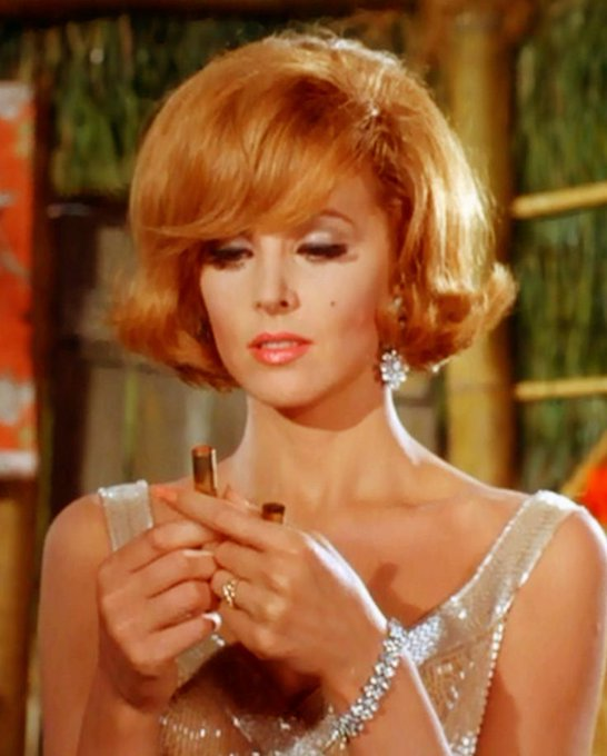 Happy birthday, Tina Louise, the movie star who maintained high glamour on a deserted island.