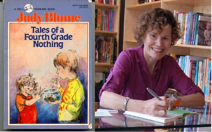 Happy Birthday to Judy Blume, who turns 79 today!