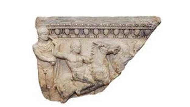 Ancient sarcophagus returned to Greece, nearly 30 years after it was stolen