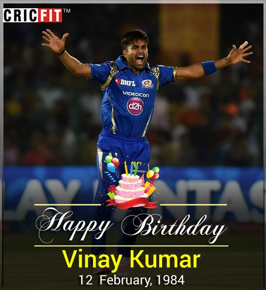 Cricfit Wishes Vinay Kumar a Very Happy Birthday!