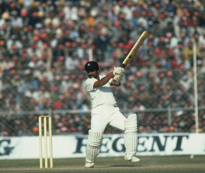 Happy birthday to a cricketing gentleman: Gundappa Viswanath