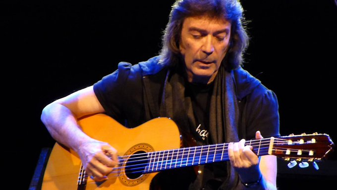"Steve Hackett ""Wolflight\"" HAPPY BIRTHDAY TO THE GENIUS THAT IS"