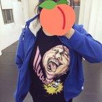 百花さんとおなら吾郎さんコラボTシャツでお芝居のレッスン🍑ももちゃん会いたいなぁ…