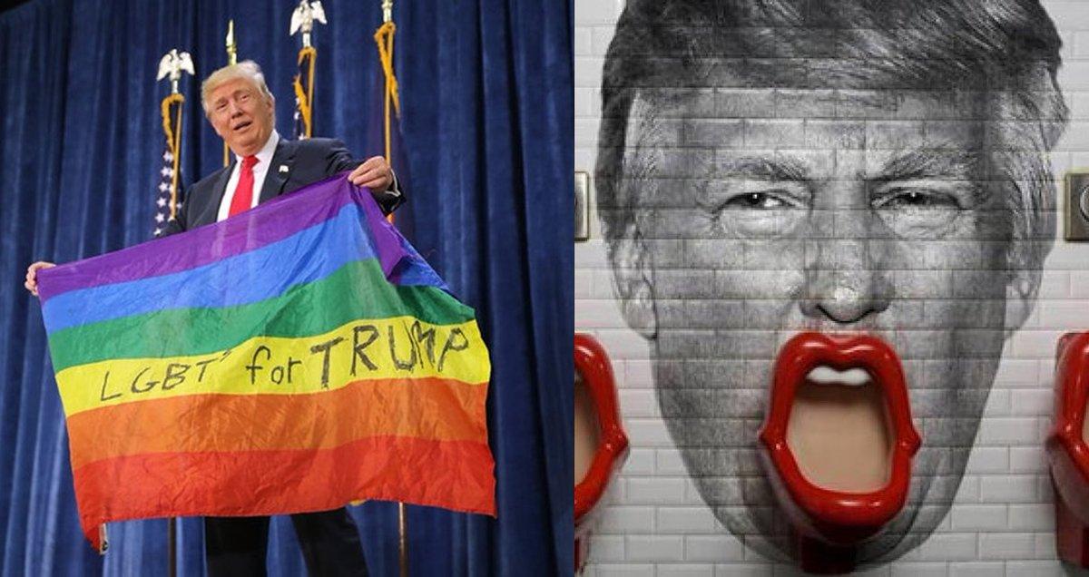 트럼프가 성전환 학생 화장실 사용 지침'을 폐기함에 따라 성전환 학생은 정체성 아닌 태어날 때 성별로 화장실을 이용해야 한다  https://t.co/ylMh56l4n9