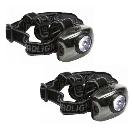 Free 2 Pack of Super Bright 1 Watt 100 Lumen Headlamp - freestuff freebie freebies