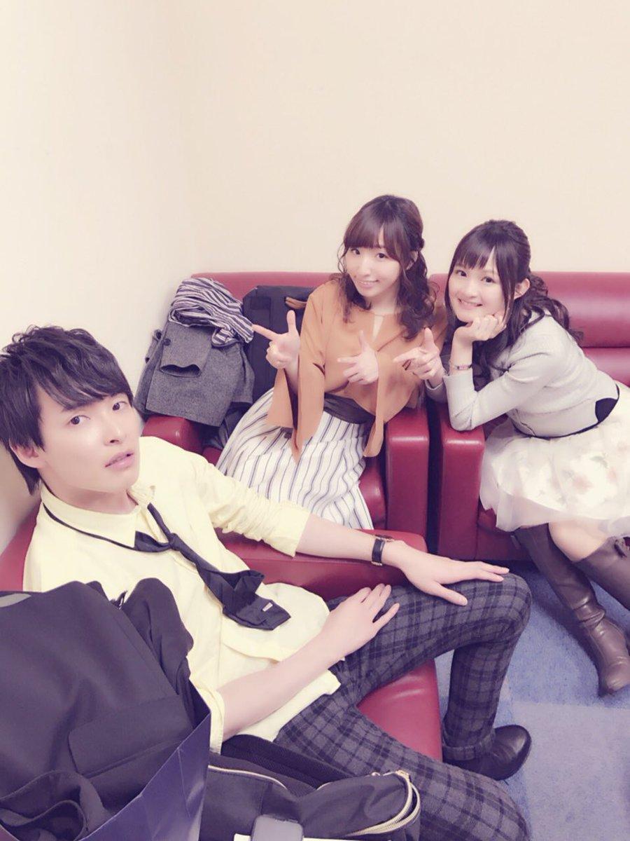 SSWF楽しかった〜〜めちゃくちゃ笑ったなぁ。新しいジングル、お楽しみに!!写真は洲崎西&今日イチの功労者田丸篤