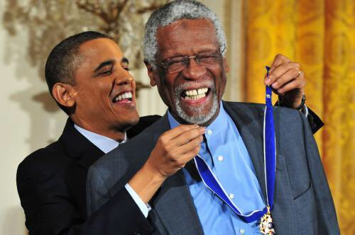 Happy 83rd birthday to bill russell, who is magnificent and did not stick to sports