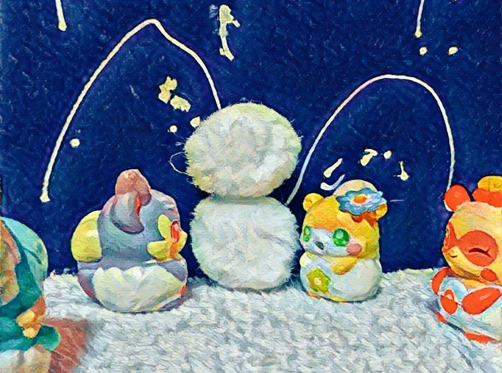 雪だるま⛄#cocotama