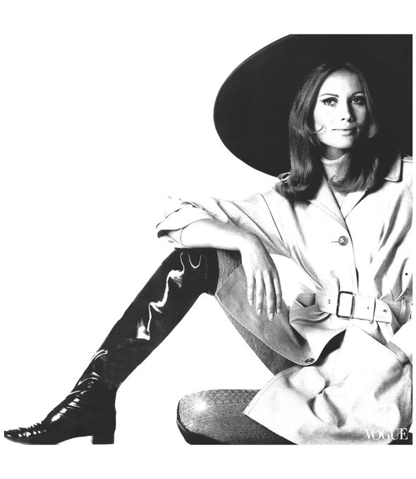 Happy birthday Maud Adams  Vogue, August 1967 Photo: Irving Penn