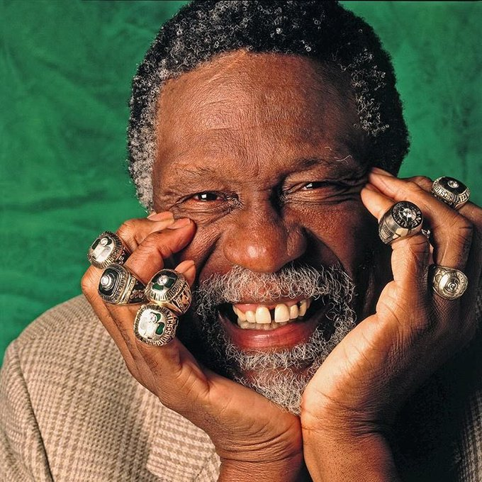 Happy birthday Bill Russell.