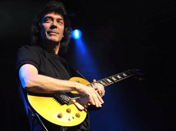 02/12/1950  Happy Birthday, Steve Hackett, guitarist                          of Genesis, then solo
