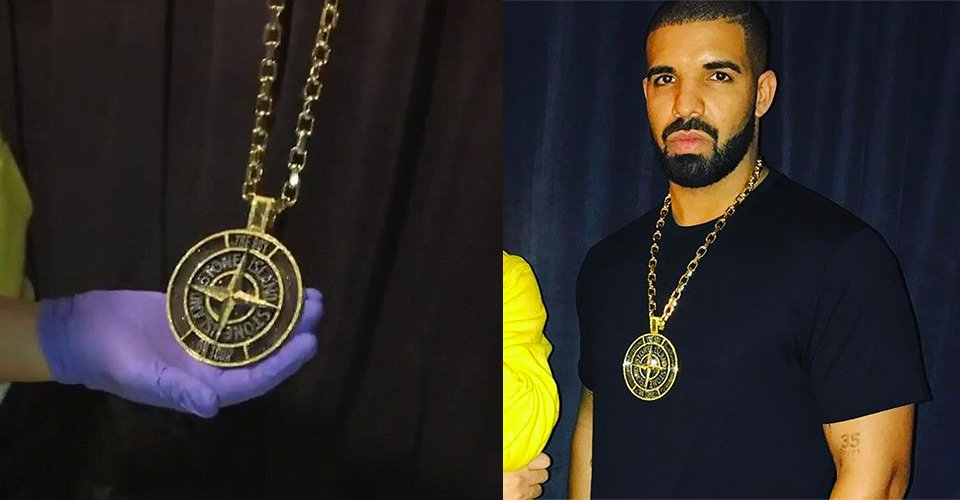 share urban baller shot at from drake islandz chains on this pm owl chain screen ben drops ovo