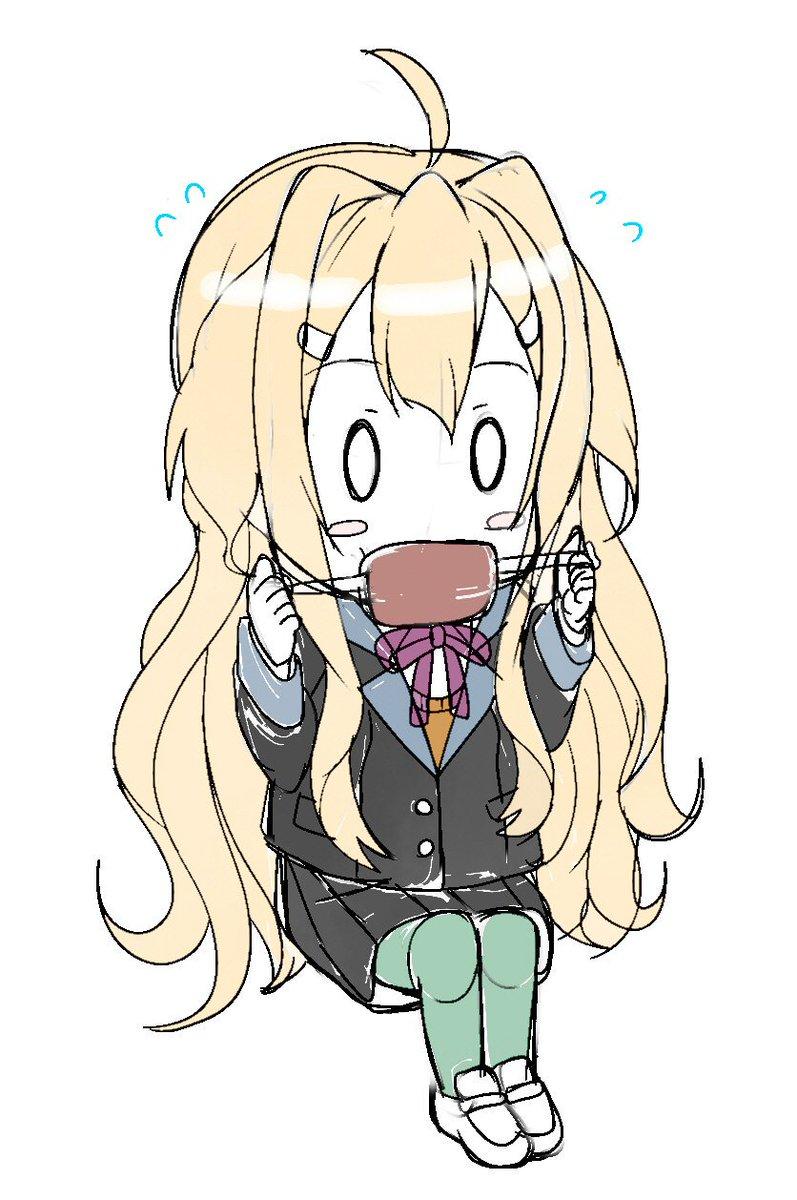 杏ちゃんの食べ方可愛いよねハムハムて!#yuyuyu