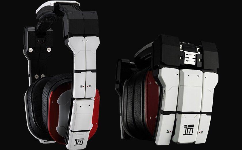 @_nyaruru_222  ヘッドフォンについて正式名称『THP-01 東亜重工製通信用端末・二零式[白]』「シドニア