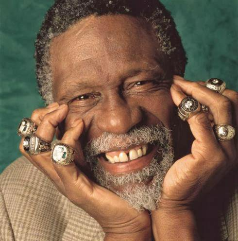 Happy Birthday Bill Russell. Now watch him  jump over a defender from near the FT line!