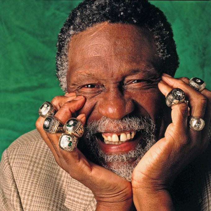 Happy Birthday to Bill Russell!
