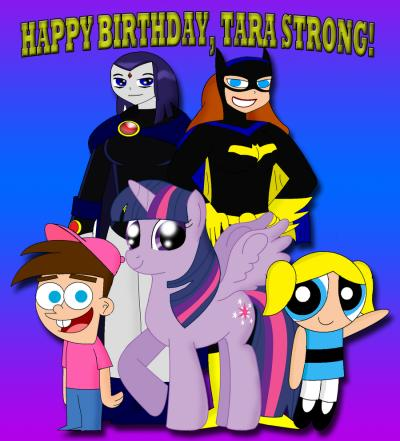 happy birthday to the beautiful and talented Tara strong. Huge fan live in Florida and hope 2 meet u1day
