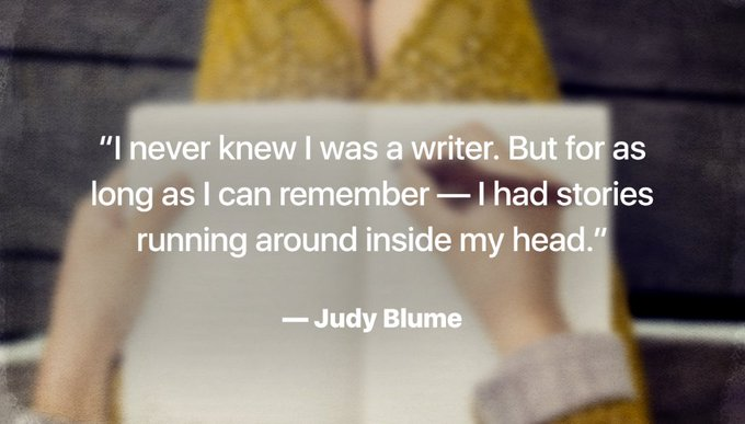 Happy happy birthday,    What\s your favorite Judy Blume book?