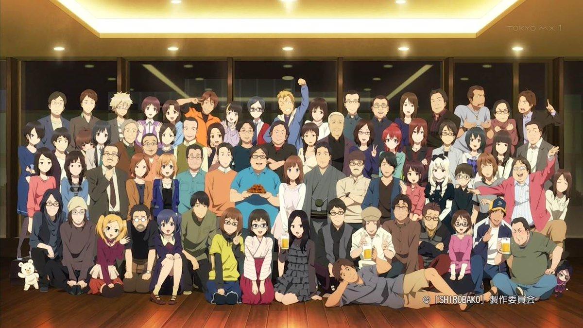 やっぱ「SHIROBAKO」の二期を望むのは無粋だよなぁいや、見たいけど・・・蛇足になりかねないし・・・いやほんと素晴ら
