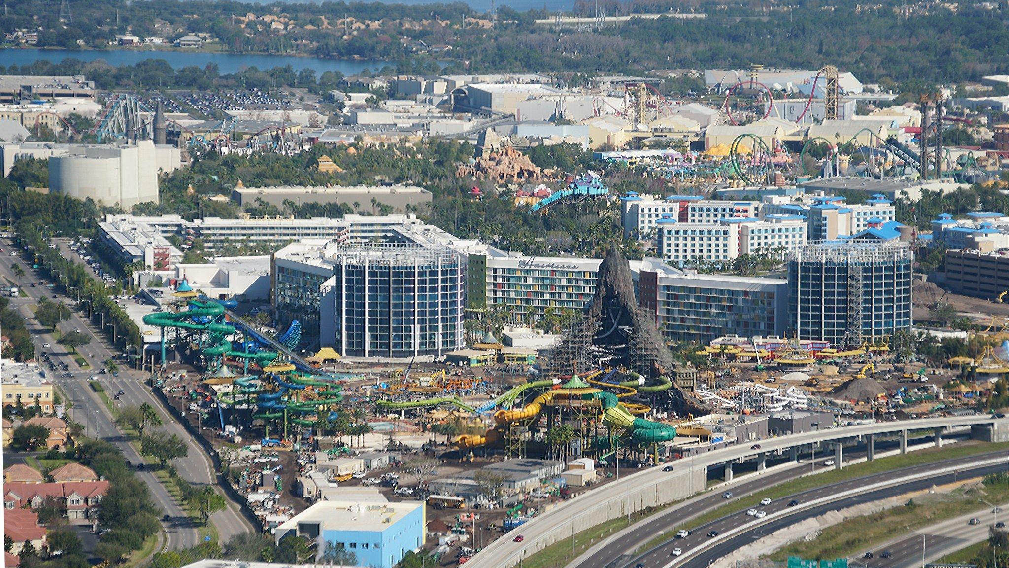 The skyline of Universal Orlando Resort https://t.co/byP4Owmr6o