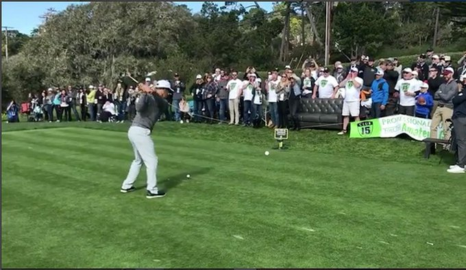 Watch the Pebble Beach Golf Crowd Sing Kelly Slater Happy Birthday