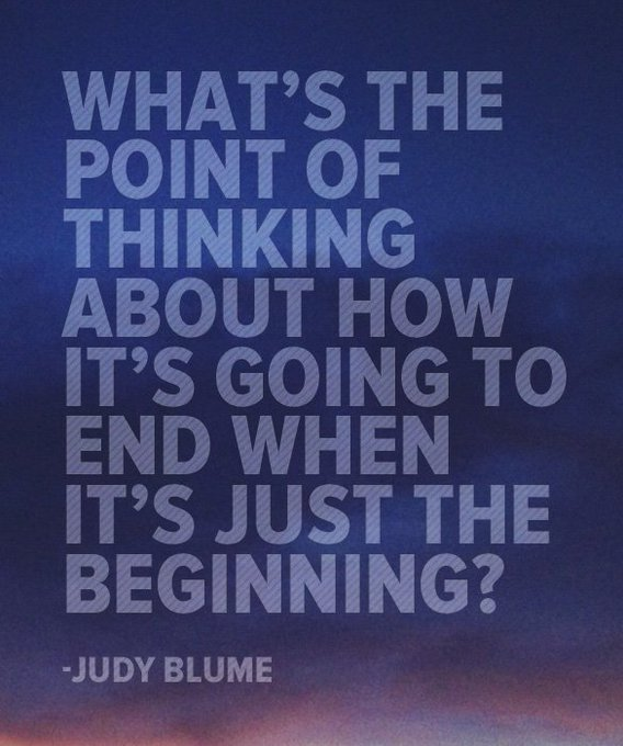 Happy Birthday to Judy Blume Am amazing writer who always has a funny and truthful view of life.