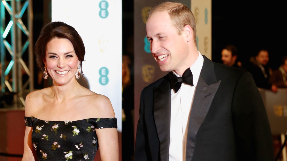 BAFTAs Photos: Kate Middleton and Prince William's Night Out With the Stars