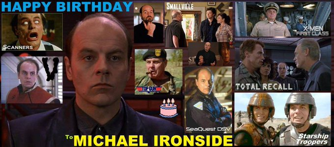 2-12 Happy birthday to Michael Ironside.