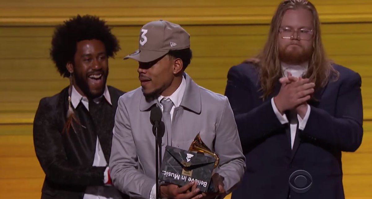Chance the Rapper gave New Era  4.2M in equivalent advertising from his Red  Carpet appearances 0422dfe4b6b