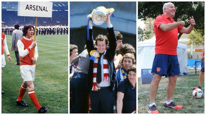 Then, now, always A true Arsenal legend turns 61 today Happy birthday to you, Liam Brady