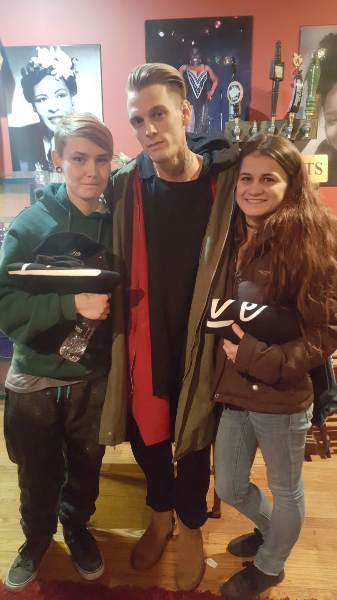 Aaron Carter - The Stanhope House - Stanhope, NJ on 2/12/2017 - 7 ...